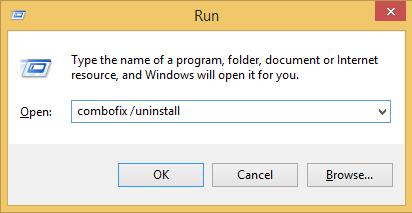How to uninstall ComboFix